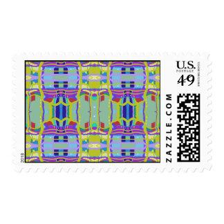Preppy Plaid No. 1 Postage Stamps