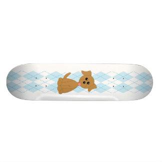 Preppy Puppy Skateboard Deck