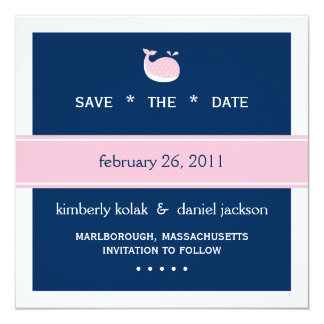 Preppy Save the Date Card