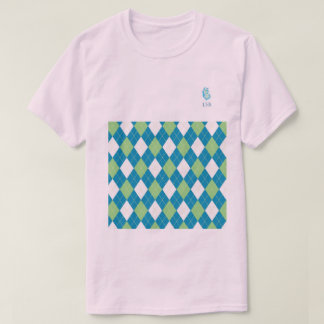 Preppy Tatar and Piink T-Shirt