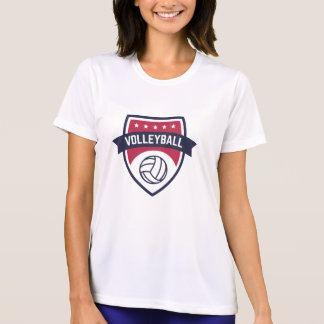 Preppy Volleyball Team Championship  League. T-Shirt