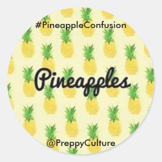@PreppyCulture  Pineapple Sticker