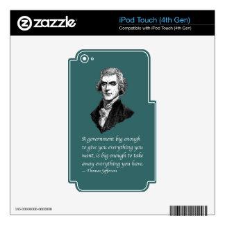 PRES03 BIG ENOUGH iPod TOUCH 4G SKIN