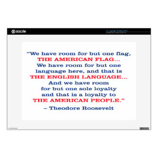 PRES26 ONE FLAG LAPTOP DECAL