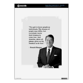 PRES40 INDIVIDUALS iPad 3 DECALS