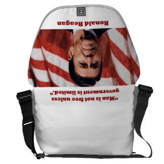 PRES40 MAN IS NOT FREE COURIER BAG