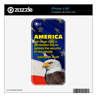 PRES43 PERMISSION SLIP DECAL FOR THE iPhone 4S