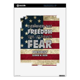 PRES43 TYRANTS FEAR iPad 2 SKINS