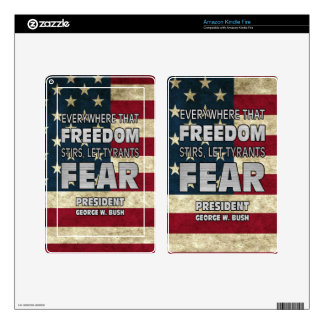 PRES43 TYRANTS FEAR KINDLE FIRE DECAL