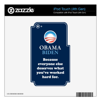PRES44 EVERYONE ELSE SKIN FOR iPod TOUCH 4G