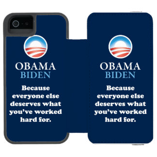 PRES44 EVERYONE ELSE WALLET CASE FOR iPhone SE/5/5s