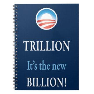 PRES44 NEW BILLION SPIRAL NOTEBOOK