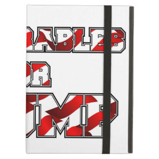PRES45 DEPLORABLES FOR TRUMP COVER FOR iPad AIR