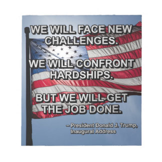 PRES45 FACE CHALLENGES NOTEPAD