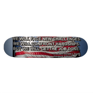 PRES45 FACE CHALLENGES SKATEBOARD DECK