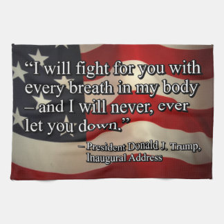 PRES45 FIGHT FOR YOU KITCHEN TOWEL