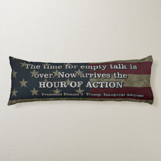 PRES45 HOUR OF ACTION BODY PILLOW