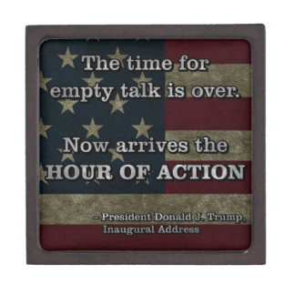 PRES45 HOUR OF ACTION KEEPSAKE BOX
