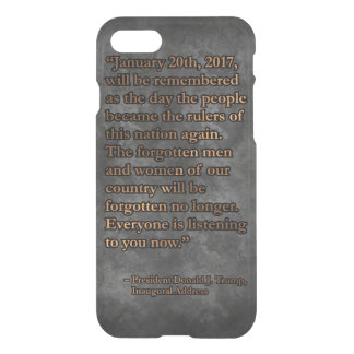 PRES45 JANUARY 20TH iPhone 8/7 CASE