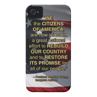 PRES45 NATIONAL EFFORT iPhone 4 COVER