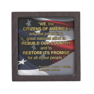 PRES45 NATIONAL EFFORT KEEPSAKE BOX
