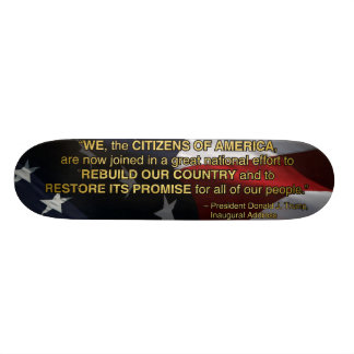 PRES45 NATIONAL EFFORT SKATEBOARD DECK
