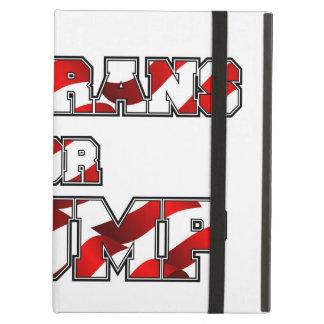 PRES45 VETARANS FOR TRUMP iPad AIR COVER