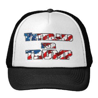 PRES45 VETARANS FOR TRUMP TRUCKER HAT