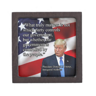 PRES45 WHAT TRULY MATTERS JEWELRY BOX