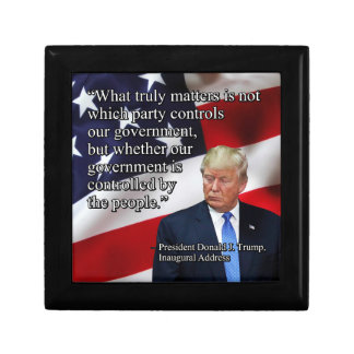 PRES45 WHAT TRULY MATTERS KEEPSAKE BOX