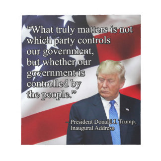 PRES45 WHAT TRULY MATTERS NOTEPAD