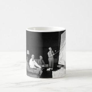 Pres. F. D. Roosevelt in conference_War image Coffee Mug