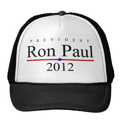 Pres. Ron Paul $17,95 (11 colores) Gorra