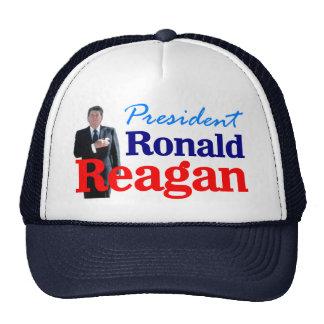 Pres Ronald Reagan Trucker Hat