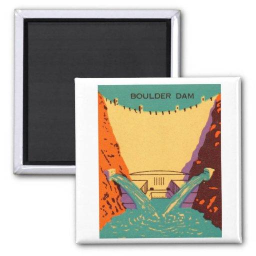 Presa de Boulder del Matchbook del vintage del kit Imán Cuadrado