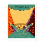Presa de Boulder del Matchbook del vintage del kit Tarjetas Postales