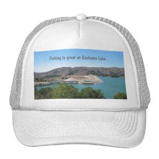 Presa de Bradbury en el lago Cachuma cerca de Sant Gorras