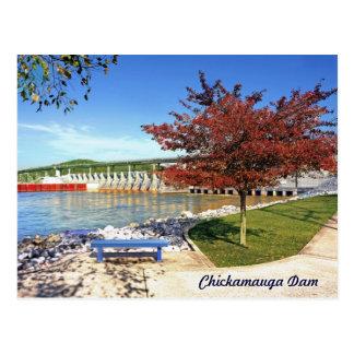 Presa de Chickamauga - Chattanooga, Tennessee, los Tarjetas Postales