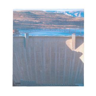 Presa de Glen Canyon en el río Colorado en la pági Blocs De Notas