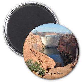 Presa de Glen Canyon Imán Redondo 5 Cm