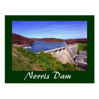 Presa de Norris, Tennessee, los E.E.U.U. Postales