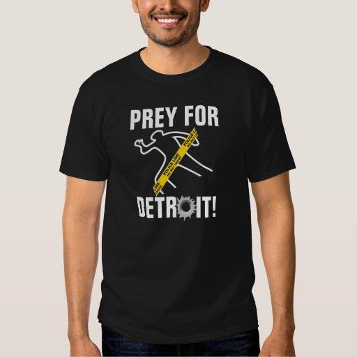 ¡Presa para Detroit! Poleras