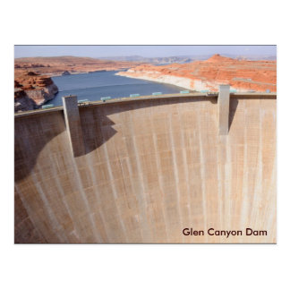 Presa y lago Powell de Glen Canyon Tarjetas Postales