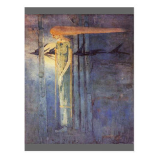 Presagio enfermo (1893) tarjetas postales