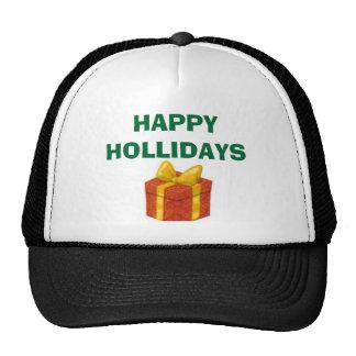 presant, HAPPY HOLLIDAYS Trucker Hat