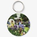 Presby Iris Garden keychain