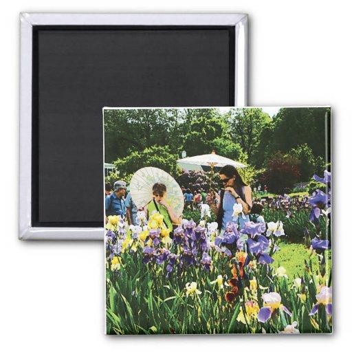 Presby Iris Garden Refrigerator Magnet