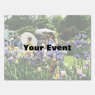 Presby Iris Garden Sign
