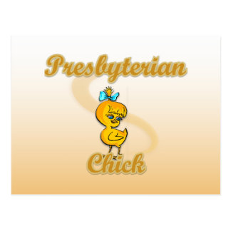 Presbyterian Chick Postcard