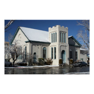 Presbyterian Church, Carson City Poster